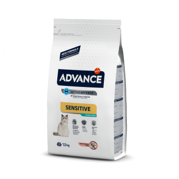 Advance Cat Sterilized Sensitive Salmon and Barley