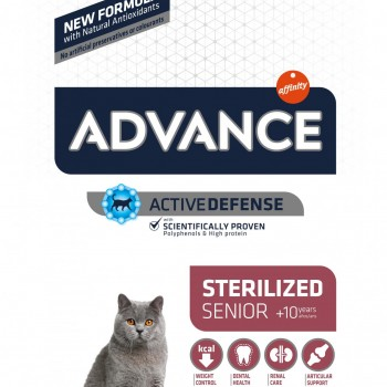 Advance Cat Sterilized +10