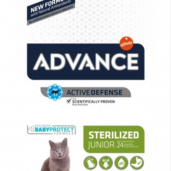 Advance Cat Sterilized Junior