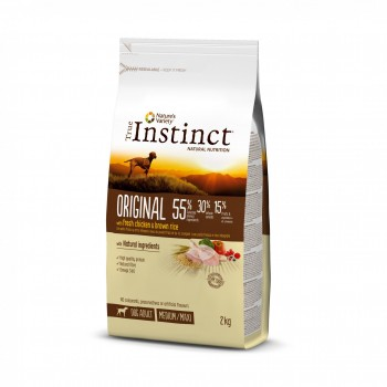 True Instinct Dog Original Chicken Med/Maxi 12кг